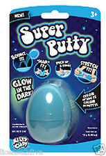 SUPER SILLY PUTTY THE ORIGINAL PUTTY! DESIGNER COLOR TM 2X'S THE PUTTY BLUE BOX