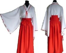 NEW Miko Shrine maiden Costume Cosplay suit Woman Adult M from Japan