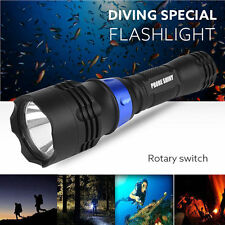 Underwater 500M 5000LM XM-L T6 LED Diving Flashlight Waterproof Torch BU b