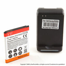 2500mAh Battery for Samsung Galaxy S III S3 L710 T999 i747 Dock Charger