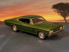 1968 68 CHEVY IMPALA SS 427 COLLECTIBLE DIECAST MODEL 1/64 SCALE - DIORAMA