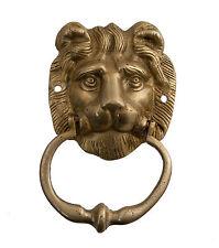 HEURTOIR MARTEAU DE PORTE LION LAITON MASSIF 700 Grs D5 9734