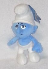 "GROUCHY SMURF 8"" Beanbag Plush Stuffed Toy Doll JAKKS PACIFIC 2013 Peyo Mint Tag"