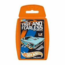 HOT WHEELS | Fast and Fearless | TOP TRUMPS | Official Top Trumps Cards