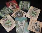 VINTAGE STYLE TOPPERS CARDS/SCRAPBOOKING,EMBELLISHMENTS/WEDDING/BIRTHDAY