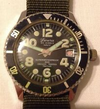 SICURA NAVY 400, vintage divers Watch, by Breitling, 23 jewels, perfect working