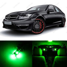 16 x Green LED Interior Light Package For 2008 -2013 Mercedes C Class W204