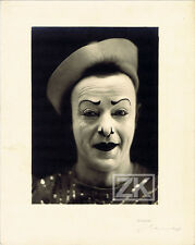 FRANCOIS FRATELLINI Trio CLOWN Whiteface Cirque HENRY Photo 1920s #1