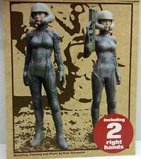 (1 fig)1/20 ma.K  Scale Resin Figure kit ~ROBOT BATTLE V(1 fig ,Two right hands)