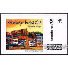 """BRIEFMARKE INDIVIDUELL Einzelmarke """"Heidelberger Herbst 2014""""  G. Hofmann, NEU"""