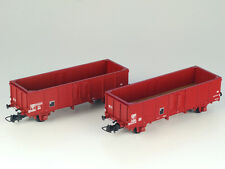 R37 Collect. p43004c SNCF SET 2x off güterwg Villach TOW rosse-marroni ep3 h0 NUOVO + OVP