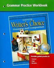 Writer's Choice Grammar Practice Workbook Grade 6
