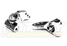 T6644SILVER Billet Machined Type II Rear Carrier for HPI Nitro & E-Firestorm