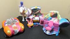 4 Pc Lot GROOVY GIRL Manhattan Toy Plush BEAUTY SHOP Vanity CAR Horse