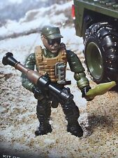 Call of Duty Mega Bloks Apc Invasion 06856 Set DCL09 Tank Mini-Figure W/ Rocket