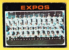 1971 TOPPS #674 MONTREAL EXPOS TEAM CARD
