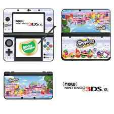 Shopkins Vinyl Skin Sticker for NEW Nintendo 3DS XL (with C Stick)