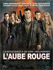 Affiche 40x60cm L'AUBE ROUGE /RED DAWN 2013 Chris Hemsworth, Josh Peck NEUVE