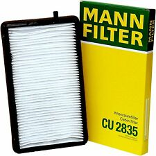 MANN FILTER CU 2835 CABIN AIR FILTER WITH ACTIVATED CHARCOAL