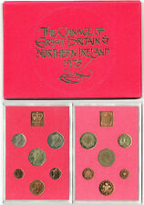 BRITISH COINS: 1973 Great Britain & Northern Ireland Proof Coin Collection Set