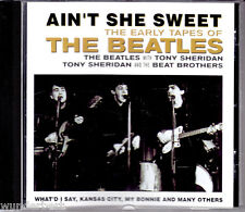 "CD - "" The BEATLES - Ain`t She Sweet - the Early Tapes of "" - Muy Buen Estado"