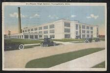 POSTCARD YOUNGSTOWN OHIO Rayen High School Campus Building 1920'S