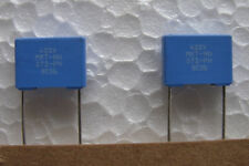 10 New .01uF 400V volts 5% Philips MKT 372 PETP polyester capacitors