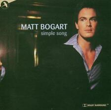 Matt Bogart Signed CD Simple Song Autographed Jersey Boys Smokey Joe's Cafe Star