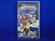 psp RIVIERA The PROMISED LAND Game RPG Adventure Playstation PAL UK REGION FREE