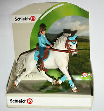 Schleich Farm - TOURNAMENT RIDER Figure & Horse SET - 42111 *New*
