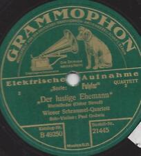 Wiener Schrammel Quartett Paul Godwin 1928 : Der lustige Ehemann