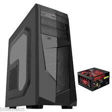 """AVP Mamba - 650w PSU BLACK-ATX MIDI TOWER Custodia Con Finestra Laterale & 2.5"""" Alloggiamenti"""
