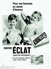 PUBLICITE ADVERTISING 115  1964  ECLAT   savon pour enfants