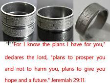 36PCS silver jeremiah 2911 Stainless Steel Men's women's   Rings lots wholesale