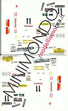 DECALS FORD ESCORT WRC TOSHIBA RALLY RAC 1997 VATANEN 1/43 RACING 43