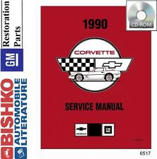 1990 Chevrolet Corvette Shop Service Repair Manual CD