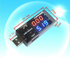 USB Charger Capacity time Current Voltage Detector Meter Battery Tester