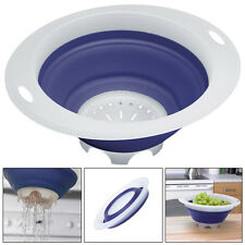 Progressive Collapsible Colander Folds Flat Save Storage Space Dishwasher Safe