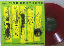 LP - Five Brothers - Mitchell, Eneboldsen, Harper, Overburg & Capp - RED VINYL