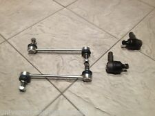 FORD ESCORT 90-00 TWO FRONT TRACK TIE ROD ENDS + 2 ANTI ROLL BAR DROP LINKS NEW