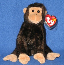 TY WEAVER the MONKEY BEANIE BABY - MINT TAGS