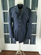 Mens US Air Force Uniform Coat Jacket Blue