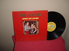 "THE KENDALLS: HEAVEN'S JUST A SIN AWAY     12""   33 RPM   LP"