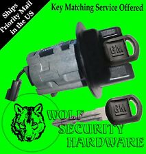 Chevy Cavalier 00 01 02 04 05 Ignition Key Switch Lock Cylinder W/2 GM Keys