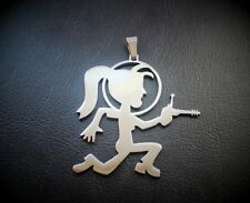juggalette  hatchet girl hatchetgirl OUTERSPACE    ICP charm juggalo