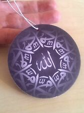 ISLAMIC ALLAH MOHAMMED / MUHAMMAD DOUBLE SIDE DESIGN CAR AIR FRESHENER BULK x 5