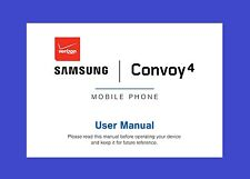 Samsung Convoy 4 User Manual for Verizon (model SM-B690V)