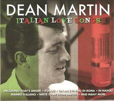 DEAN MARTIN ITALIAN LOVE SONGS - 2 CD BOX SET - VOLARE & MORE