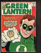 """Green Lantern #10 ~ """"Prisoner of the Power Ring!"""" ~1962 (3.0) WH"""