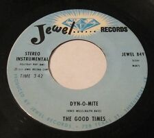 """The Good Times - dyn-o-mite/At J.""""s Joint 45 JEWEL RECORDS soul funk disco"""